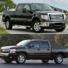 2013 Chevrolet Silverado vs. Ford F-150
