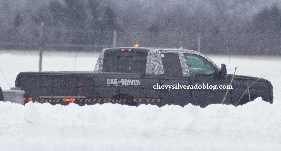 2014 Chevrolet Silverado (spy photo)