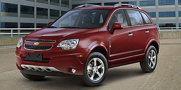 2012 Chevrolet Captiva Sport crossovers in order to fix