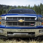 2014 Chevy Silverado LT Grill Front View