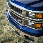 2014 Chevrolet Silverado LT Side View Grill