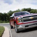 2014 Chevrolet Silverado LTZ on Road