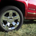 2014 Chevrolet Silverado LTZ Chrome Wheels