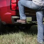 2014 Chevrolet Silverado LTZ Bumper Step, Man Step