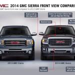 2014 GMC Sierra Front View Comparison 010B