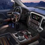 2014 GMC Sierra SLT Interior storage detail 023