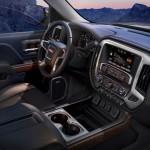 2014 GMC Sierra SLT interior floor console 029