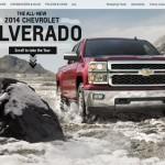 2014 Silverado Interactive Website