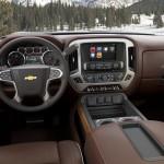 2014 Chevrolet Silverado High Country Saddle Brown Interior