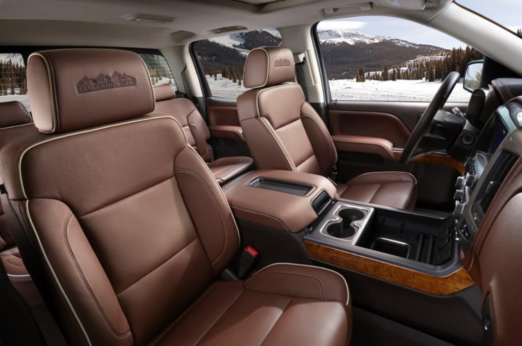2014 Chevrolet Silverado High Country Leather Seats