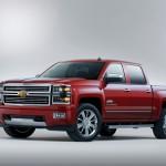 2014 Chevrolet Silverado High Country Front Three Quarter