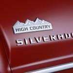 2014 Chevrolet Silverado High Country Badge Close Up