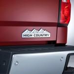 2014 Chevrolet Silverado High Country Bumper and Badge