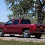 2014 Chevrolet Silverado High Country Rear Three Quarter