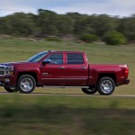 2014 Chevrolet Silverado High Country Side view Driving