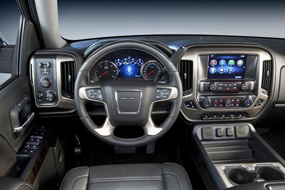 2014 GMC Sierra Denali High-Tech Interior | Chevy Silverado Blog