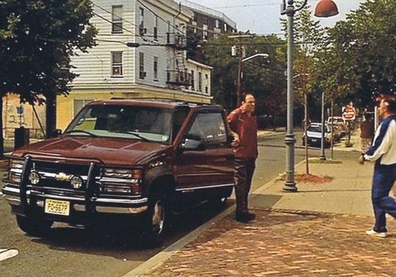 Tony Soprano with his Suburban | Chevy Silverado Blog