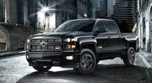 2015 Chevrolet Silverado Midnight special edition