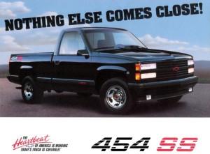 1990 - 1993 Chevy 454SS Sport Truck Advertisement