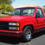 1993 Chevy 454SS Red