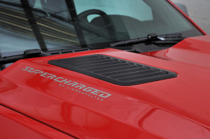 2014 Chevy Silverado 1500 Lingenfelter Reaper Supercharged Badge