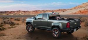 2015 Colorado ZR2 Off-Road Concept in the Desert