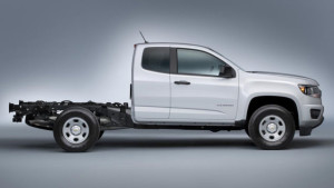 2015 Chevrolet Colorado WT Chassis Cab Side View