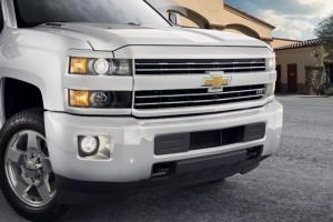 2015 Silverado Custom Sport HD front grille