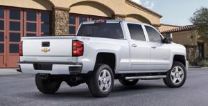 2015 Silverado 2500 and 3500 Custom Sport Editions Rear