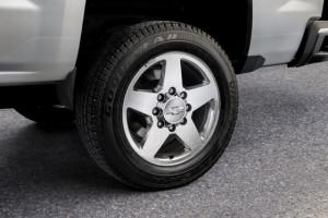 2015 Silverado 2500 and 3500 Custom Sport Editions Wheels