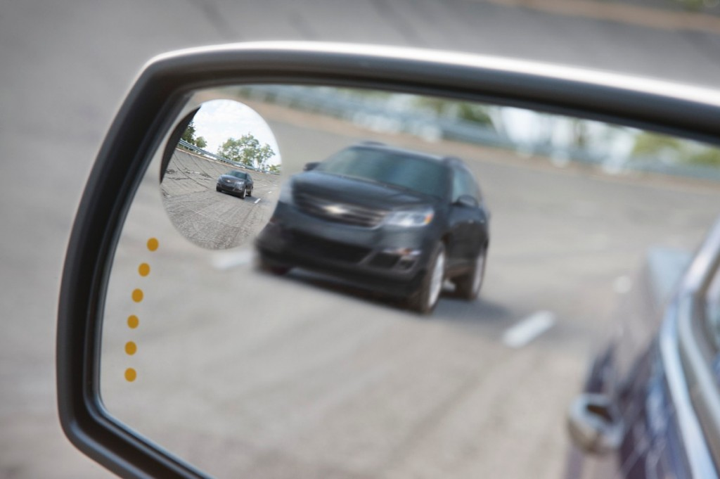 2014 Chevrolet Silverado LT Side Mirror, Blind Spot ...