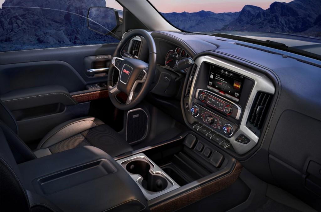 2014 GMC Sierra SLT interior floor console 029 | Chevy Silverado Blog
