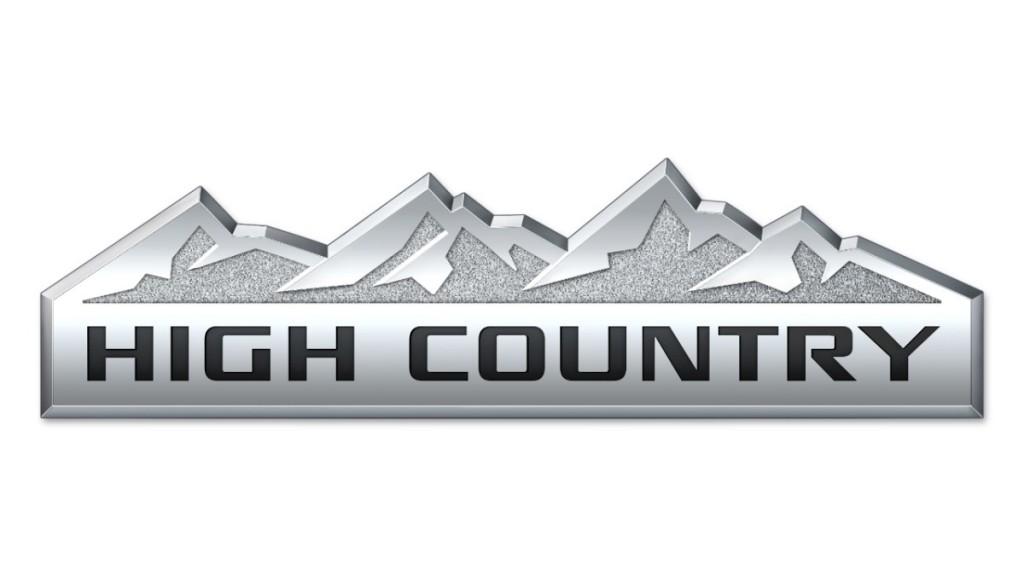 2014 Chevrolet Silverado High Country Logo | Chevy ...