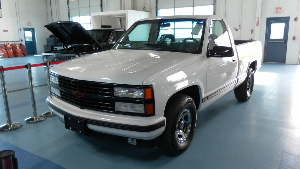 1992 Chevy 454SS White Front | Chevy Silverado Blog
