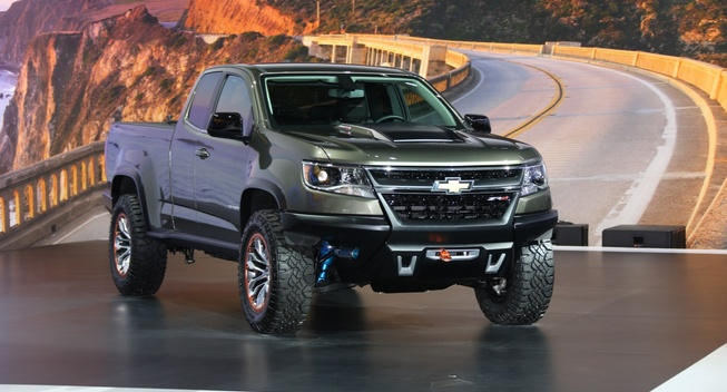 2015 Chevy Colorado ZR2 Off Road Concept Truck | Chevy ...