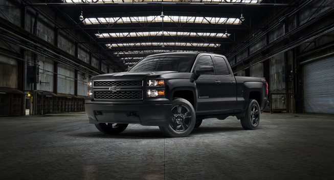 2015 Chevy Silverado 1500 Black Out Edition | Chevy ...